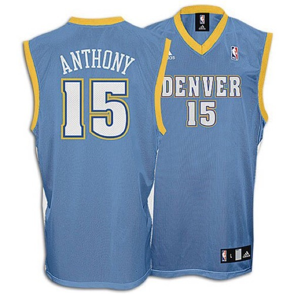 best sneakers 8e1ad 1a4a6 Carmelo Anthony Denver Nuggets Jersey #15 - 2XL